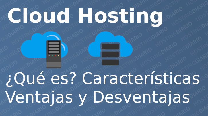 que es cloud hosting
